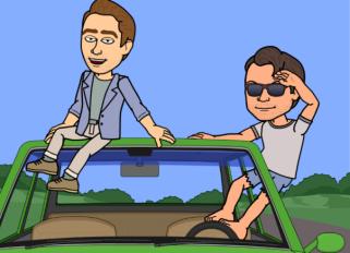 Me and Greg...