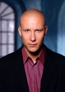 Bald man in a suit aka Lex Luthor