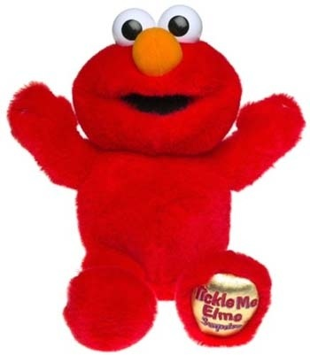 Tickle Me Elmo!