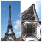 Angles inhabituels de la tour eifel