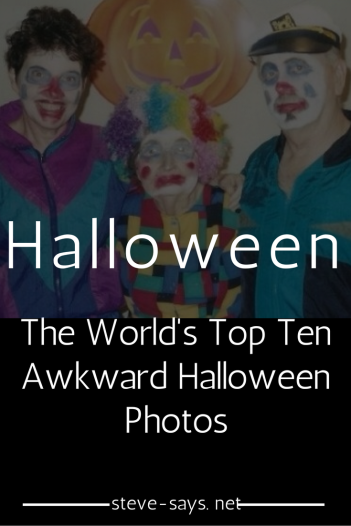 Awkward Halloween Photos