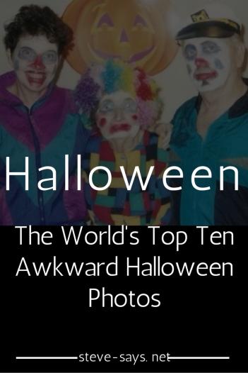 Awkward Halloween Photos