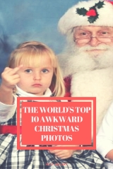 The World's Top 10 Awkward Christmas Photos