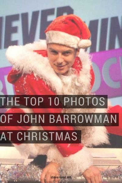 The Top 10 Photos Of John Barrowman At Christmas