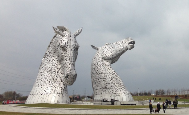 The Kelpies: Never Look A Mythical Water Horse In The Mouth Unless You Are Taking A Photo