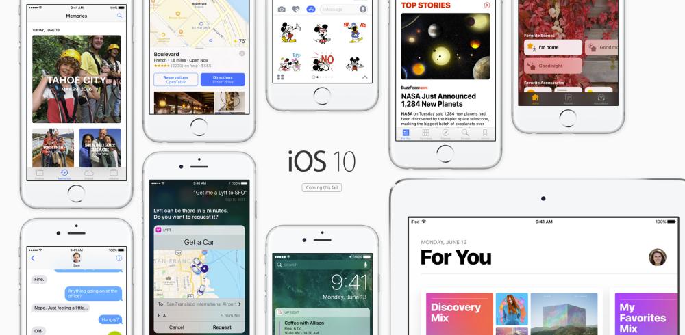 iOS 10 Released