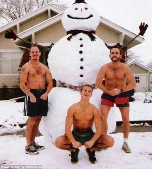Awkward Christmas Photos