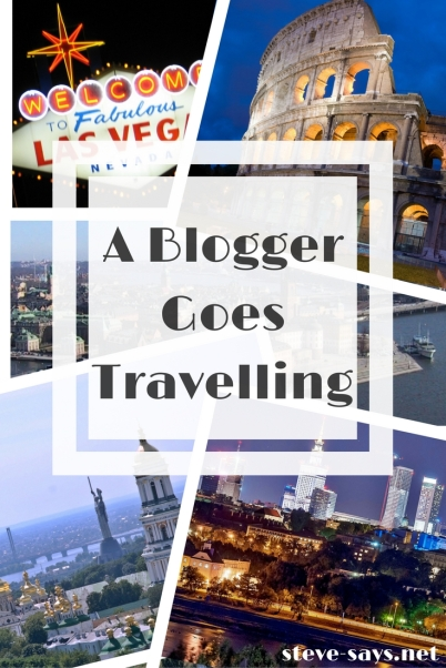A Travelling Blogger: Not To Be Confused With A Travel Blogger