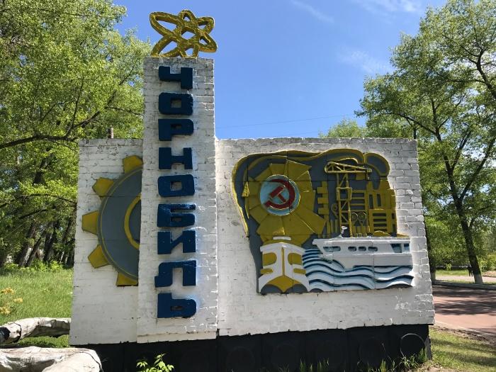 Chernobyl Sign